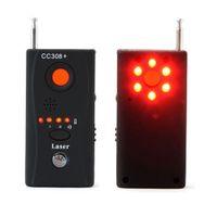 Wholesale CC308 Anti Spy Camera Detector Multi Detector Wireless Signal GSM BUG Spy Camera Signal Finder Signal Bug RF Detector CC308