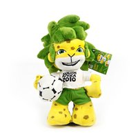 africa football - South Africa football World Cup mascot Zakumi plush toy stuffed toy