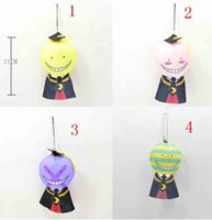 animation classroom - Outside the single animation assassination classroom teacher Korosensei plush toys finger even kill machine rope pendant ornaments cm