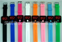 Cheap Casual silicone watches Best Unisex Not Specified LED digital watches