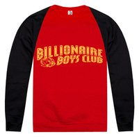 Cheap brand new Billionaire Boys Club bbc men's casual hiphop Pullover sweater sports sweatshirts