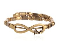 alex rims - New alex and ani Charm Bracelets Fashion retro punk style woman geometric DIY LOVE gold alloy rims bracelet pendant mm adjustable