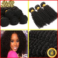kinky curly hair extensions - 6A Brazilian Hair Bundles Virgin Hair Wefts Kinky Curly Hair Weaves Unprocessed Remy Human Hair Extensions Accept Return