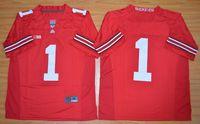Wholesale 2015 Ohio State Buckeyes Braxton Miller College Football Jersey Black Red Size M L XL XL XL