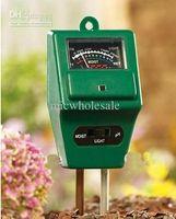 Wholesale in Garden Plant Soil Test Kits PH Tester Moisture Meter Light Illuminance Analyzer Soil Plant Flower Moisture Tester PH Ligh