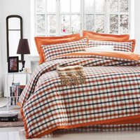 bedding set clearance - four piece bedding British style of Europe and the United States cotton satin drill four piece set loss clearance hy