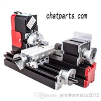 Wholesale CNC Mini Lathe Machine Metal Motorized with High Quality For Teaching or DIY