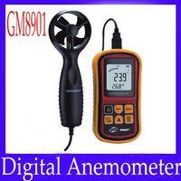 Wholesale Digital Anemometer GM8901 measure range m s