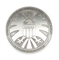 Wholesale THE AVENGERS AGENTS OF SHIELD S H I E L D EAGLE METAL BADGE SIER COSPLAY