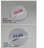 Wholesale 2014 Hyundai ix25 High quality stainless steel Fuel tank cover Trim