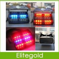 Wholesale 18 LED Emergency Vehicle Strobe Lights Windshields Dashboard Flash Warning LED LIGHTS