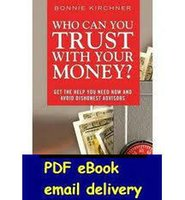 Wholesale Who Can you Trust with Your Money by Bonnie Kirchner Author