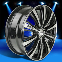 Wholesale 2015 New x Alloy Car Wheels Rim Black Machined Polished for Nissan Sentra USA STOCK