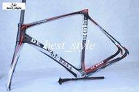 Wholesale DE ROSA Hot Sale Road Bicycle Frames T800 Carbon Fibre K Bike Frames BB68 Including Frame Fork Seatpost Clamp Headset for Cycling