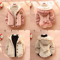 baby cardigan - Cute Baby Toddler Girls Warm Hoodie Cardigan Jacket Coat Knit Sweater Outwear Clothes