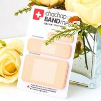 band aid sticker - 10 packs Cute Band aid Memo Pad Sticky Note Kawaii Paper Sticker Creative Gift NOVELTY ITEMS