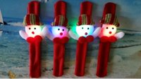 Wholesale LED wrist strap Santa Claus decoration christmas carnival festival holiday supplies party