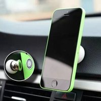 Wholesale Magnet Car Holder For Iphone Samsung smartphone and GPS Stand Display Support Magnetic Smart Mobile Phone Car Holder DHL Fedex Ups
