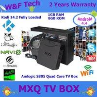 smart tv - Quad Core MXQ Android Media Player Smart TV Box Amlogic S805 MXQ IPTV TV Box With XBMC KODI Fully Loaded Update MX TV Box