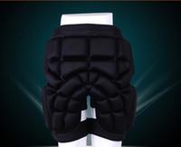 X-deportivos pantalones de hockey almohadilla cadera XS / S / M / L 3 cm de espesor EVA acolchada esquí / patinaje / derrape de impacto pantalones cortos nieve