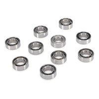Wholesale Brand New x x mm Miniature Metal Shielded Sealed Groove Model Ball Bearing Excellent Quality