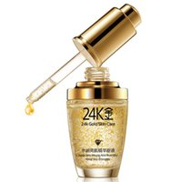 Wholesale 24k Pure Gold face Essence Serum Hyaluronic Acid Liquid Cream Whitening Moisturizing Anti Aging Skin Treatment Face care GI2367