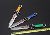 knife knives lot - No brand quot Throwing Knife Satin Plain Pro Flight Sport Fixed blade knife camping knife survival gear Tactical knife knives piece