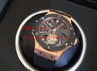 eta swiss movement - Luxury Top Quality Mens Watch Bang King Tourbillon Rose Gold Top Edition Swiss ETA Movement Automatic Men s Watches