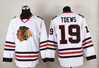 Men apparel mixed greens - Blackhawks Jerseys TOEWS White Hockey Jerseys Mens Sports Jerseys Cheap Sports Shirts Brand Players Uniforms Athletic Apparel Mix Order