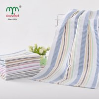 waffle towels - New toallas set cotton towel cm Plain Dyed Hand Towel Waffle Quick Dry Magic Towel Summer Style Cooling Towel