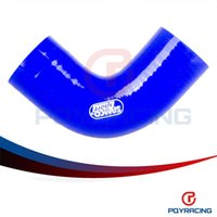 Wholesale PQY STORE BLUE quot mm Degree Elbow Silicone Hose Pipe Turbo Intake PQY SH9020