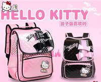 Wholesale cartoon children primary school bag girls shoulder bags hello kitty kids girl princess backpack