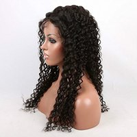 Mix Color beautiful highlights - Beautiful Kinky Curl Black Color Indian Virgin Hair Front Lace Wigs with highlight color Lower Price CHFW009