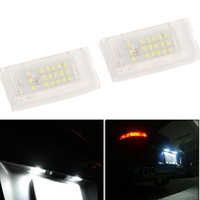backup lights for truck - Pair SMD LED Car License Plate Light Lamp for BMW Mini Cooper R50 R52 R53 Rear Backup Tail Lamp Truck Trailer Bulb