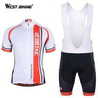 bid shorts - Pro Cycling Jersey Short Sleeve Bid Shorts Gel Padded Fitness Clothes Roupa Bicicleta Mountain Bike Bicycle Cycling Clothing