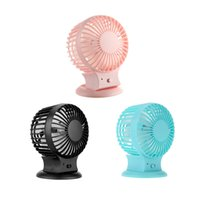 Wholesale Home Supplies USB Portable Rechargeable Mini Fan with Switch for Office Use Super Silent Cooler High Air Flow Adjustable Speed