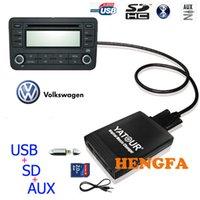 Cheap Yatour Car Digital CD Music Changer USB MP3 AUX adapter For VW Gamma 4 Head Unit 10-Pin yt-m06