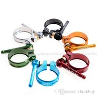 Wholesale KCNC MTB Seatpost Seat Post QR Clamp SC10 mm brand bicycle seatpost clamps bike seat post clamp road bicycle Clips clamps