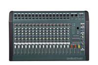 Wholesale NEW Professional Audio Powered Amplifier Mixer Channels Double Graphic EQ Mixing Console Mezcladora De DJ Wx2 MX1606D