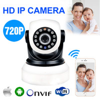 android cmos - HD MP P Wireless IP Camera With G Card WIFI Webcam Night Vision LED IR Dual Audio Pan Tilt Support IE Iphone Android