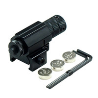 Wholesale 5mW Powerful Tactical Red Dot Laser Sight Aluminum Laser Sight Scope Set for Rifle Pistol Shot