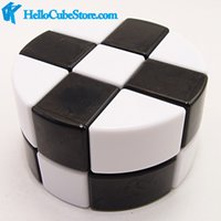 Wholesale Lanlan cylinder x3x2 cube mixed white black and white newest fashion cubos magicos puzzles welcome to buy