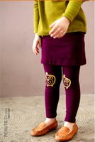 Cheap Cool Girls Skirts with Solid English Alphabet Embroidered Pocket Buttons Long Pants Free Shipping