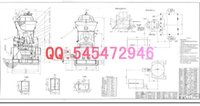 Wholesale HRM2500 vertical mill drawings Full Machining drawings