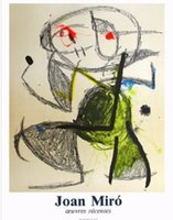 art expo - Modern Abstract Art Expo Galerie Maeght Joan Miro oil painting on Canvas High quality Hand painted