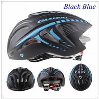 Wholesale GIANT Bike Helmet Outdoor Sports Cycling Helmet with Visor Mountain Road MTB Bicycle Helmets cm g cycling helmet