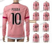 Wholesale thai quality customized new season pogba soccer jerseys mandzukic football jerseys tops cheap khedira soccer wear
