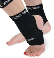 Wholesale Copper Wear Ankle Compression Sleeve Copper Wear dance fitness Ankle Support Breathable Compression Outdoor Sports Gym Protecting