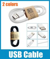 Wholesale Micro USB Cable Note4 Micro USB Sync Data Charger Cable For Samsung Galaxy S5 I9600 S4 Note HTC Huawei etc CAB001