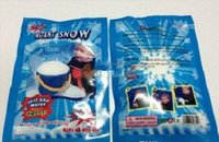 Wholesale 300pcs Hot Magic Prop DIY Instant Artificial Snow Powder Simulation Fake Snow Christmas Decoration for children baby gift with retail bag